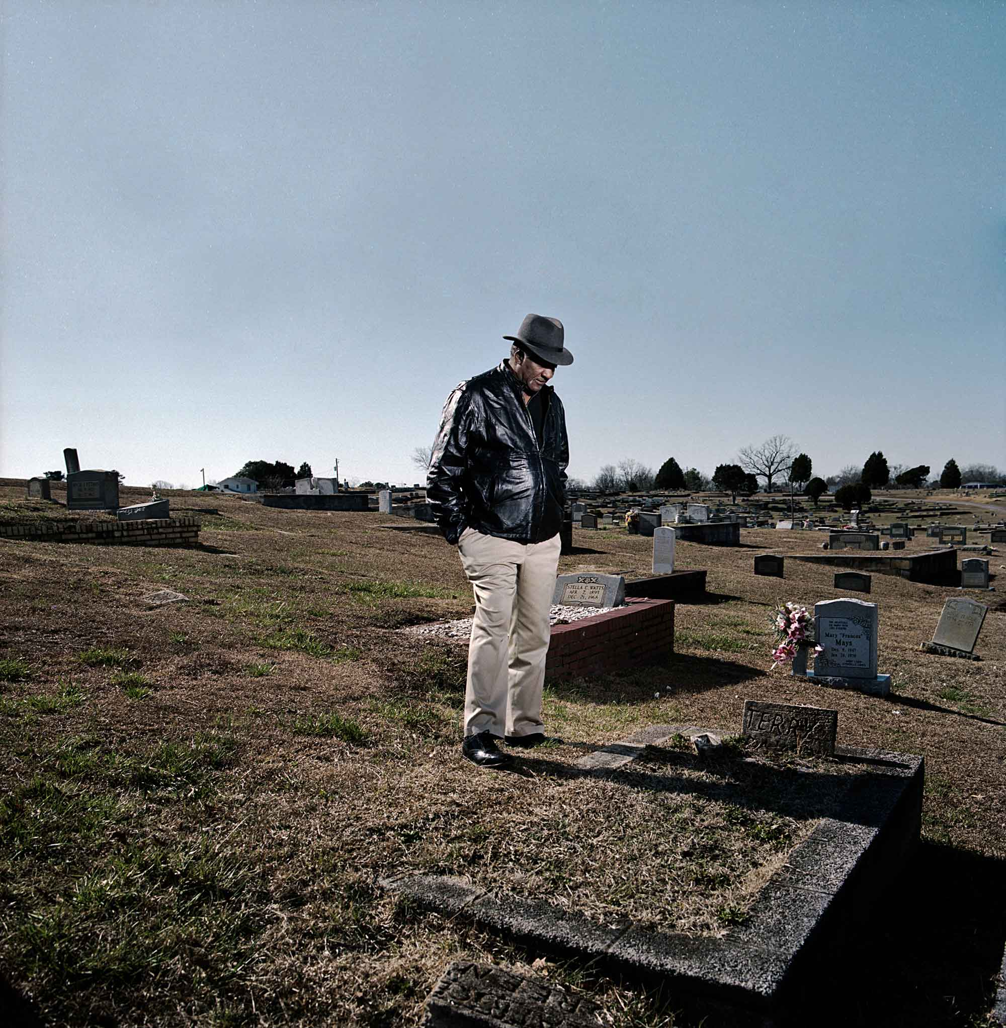 Cimetière Edgemont, West Anniston, Alabama 2012 - Mathieu Asselin